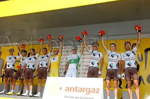 2009, Tour de France, tappa 11 Vatan - Saint Fargeau, Ag2r - La Mondiale, Nocentini Rinaldo, Roche Nicolas, Vatan Stage 11, July 15th 2009 (Photo: Stefano Sirotti/ActionPlus)