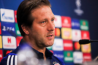 Head Coach of Olympiacos FC, Pedro Martins attends a press conference ahead of the UEFA Champions League match against Tottenham Hotspur, in Karaiskaki Stadium in Piraeus, Greece. Tuesday 17 September 2019