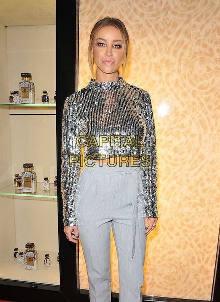 Lauren Pope attends the #Disaronno Wears Cavalli cocktail reception to mark new Disaronno Limited Edition bottle by Cavalli, Roberto Cavalli boutique, Sloane Street, London, England, UK, on Wednesday 04 November 2015. <br /> CAP/CAN<br /> &copy;Can Nguyen/Capital Pictures