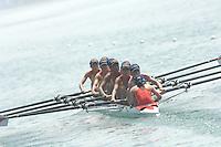 Beijing, CHINA, CHN JW8+, bow, Xiaolei ZHANG, Liping CAO, Lin LIN, Yue Wang, Jinfei ZHU, Weijing LI, Jiaoyue XU and Lingling YIN, during the  2007. FISA Junior World Rowing Championships Shunyi Water Sports Complex. Wed. 08.08.2007  [Photo, Peter Spurrier/Intersport-images]..... , Rowing Course, Shun Yi Water Complex, Beijing, CHINA,
