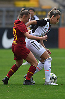 Maria Zecca (Roma) and Martina Rosucci (Juventus)<br /> <br /> <br /> Roma 24/11/2019 Stadio Tre Fontane <br /> Football Women Serie A 2019/2020<br /> AS Roma - Juventus <br /> Photo Andrea Staccioli / Insidefoto