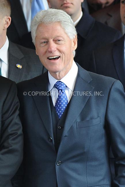 WWW.ACEPIXS.COM . . . . . .February 4, 2013...New York City....Bill Clinton following funeral services at Manhattan's Temple Emanu-El on February 4, 2013 in New York City.....Please byline: KRISTIN CALLAHAN - WWW.ACEPIXS.COM.. . . . . . ..Ace Pictures, Inc: ..tel: (212) 243 8787 or (646) 769 0430..e-mail: info@acepixs.com..web: http://www.acepixs.com .