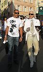 Karl Lagerfeld in St Tropez 08/02/2007