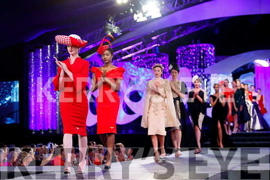 The finale of Rose of Tralee Fashion Show in the Dome on Sunday night.