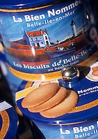 """Europe/France/Bretagne/56/Morbihan/Belle-île/Le Palais: Biscuits bretons de """"A la Bien Nommée"""" la biscuiterie de Myriam et Christophe Niceron"""