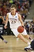 SACRAMENTO, CA - MARCH 29: Jeanette Pohlen during Stanford's 55-53 win over Xavier in the NCAA Women's Basketball Championship Elite Eight on March 29, 2010 at Arco Arena in Sacramento, California.