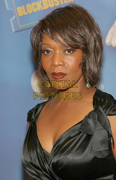 ALFRE WOODARD.Celebrities attend the 40th NAACP Image Awards pre-gala show, Century City, California, USA..February 11th, 2009.headshot portrait black silk satin .CAP/ADM/TC.©T. Conrad/AdMedia/Capital Pictures.