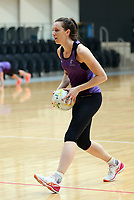 11.10.2017 Silver Ferns Bailey Mes in action during traning ahead of the final Constellation Cup netball match between the Silver Ferns and Australiain Sydney on Saturday. Mandatory Photo Credit ©Michael Bradley.
