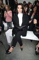 PAP0113HA390.STEPHANE ROLLAND CATWALK.PARIS HIGH FASHION SPRING SUMMER 2013.-KIM KARDASHIANPAP0113HA390.STEPHANE ROLLAND CATWALK.PARIS HIGH FASHION SPRING SUMMER 2013.-KIM KARDASHIAN