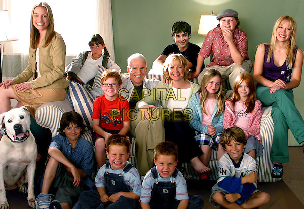 Cheaper by the Dozen (2003) <br /> Steve Martin, Bonnie Hunt, Piper Perabo, Hilary Duff, Kevin G. Schmidt, Jacob Smith, Tom Welling, Liliana Mumy, Brent Kinsman, Shane Kinsman, Alyson Stoner, Morgan York, Blake Woodruff and Forrest Landis <br /> *Filmstill - Editorial Use Only*<br /> CAP/KFS<br /> Image supplied by Capital Pictures