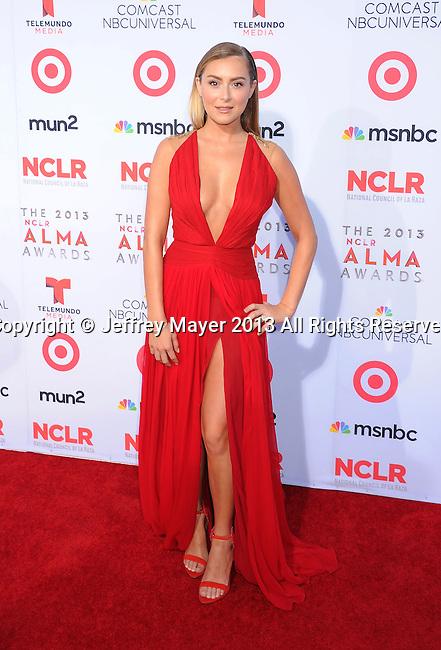 PASADENA, CA- SEPTEMBER 27: Actress Alexa Vega arrives at the 2013 NCLA ALMA Awards at Pasadena Civic Auditorium on September 27, 2013 in Pasadena, California.