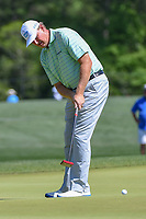 Ernie Els (RSA) watches his putt on 2 during round 1 of the Houston Open, Golf Club of Houston, Houston, Texas. 3/29/2018.<br /> Picture: Golffile | Ken Murray<br /> <br /> <br /> All photo usage must carry mandatory copyright credit (© Golffile | Ken Murray)