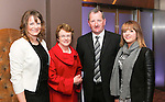 Pictured at the Limerick Sports Partnership Sports Awards were: Maura, Joan, Mike &amp; Claire Tierney.<br /> Picture  Credit Brian Gavin Press 22