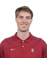 Stanford, CA - September 20, 2019: Peter Chatain, Athlete and Staff Headshots