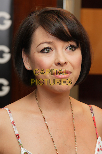 LISA SCOTT-LEE.Attending the Living TV Summer Schedule Launch event at China Tang, Park Lane, London, England, UK,. May 14th 2008.portrait headshot bob fringe.CAP/ROS.©Steve Ross/Capital Pictures