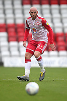 Scott Cuthbert of Stevenage during Stevenage vs Grimsby Town, Sky Bet EFL League 2 Football at the Lamex Stadium on 12th October 2019