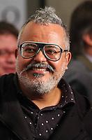 SAO PAULO, SP, 11 DE JUNHO 2013 - PELE - O estilista Ronaldo Fraga durante lancamento do projeto brasil um pais um mundo chancelado pelo plano de promoção do Brasil na Copa de 2014 no Estadio do Morumbi regiao sul da cidade de São Paulo na manha desta terça-feira, 11. FOTO: WILLIAM VOLCOV - BRAZIL PHOTO PRESS.