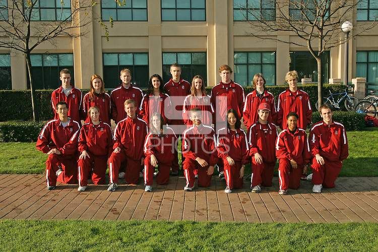 2006 fencing team photo.