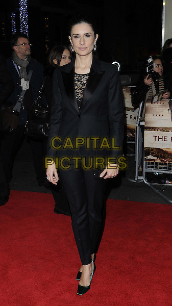LONDON, ENGLAND - DECEMBER 4: Livia Giuggioli at 'The Railway Man' UK Premiere at the Odeon West End on December 4th, 2013 in London, England<br /> CAP/CAN<br /> &copy;Can Nguyen/Capital Pictures