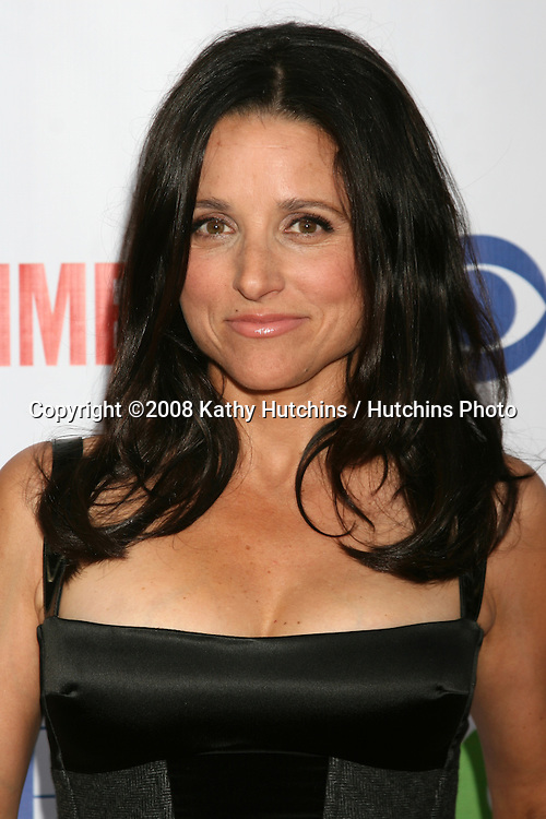 Julia Louis-Dreyfus  arriving at the CBS TCA Summer 08 Party at Boulevard 3 in Los Angeles, CA on.July 18, 2008.©2008 Kathy Hutchins / Hutchins Photo .