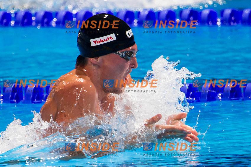 Viatcheslav Sinkevich RUS<br /> Men's 200m breaststroke semifinal<br /> 15th FINA World Aquatics Championships<br /> Palau Sant Jordi, Barcelona (Spain) 01/08/2013 <br /> &copy; Giorgio Perottino / Deepbluemedia.eu / Insidefoto