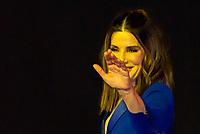 SÃO PAULO, SP, 09.12.2018 - CCXP - Sandra Bullock, atriz do filme Bird Box durante a Comic Con Experience na São Paulo Expo no bairro da Água Funda, na região Sul da cidade de São Paulo neste domingo, 09. (Foto: Anderson Lira/Brazil Photo Press)