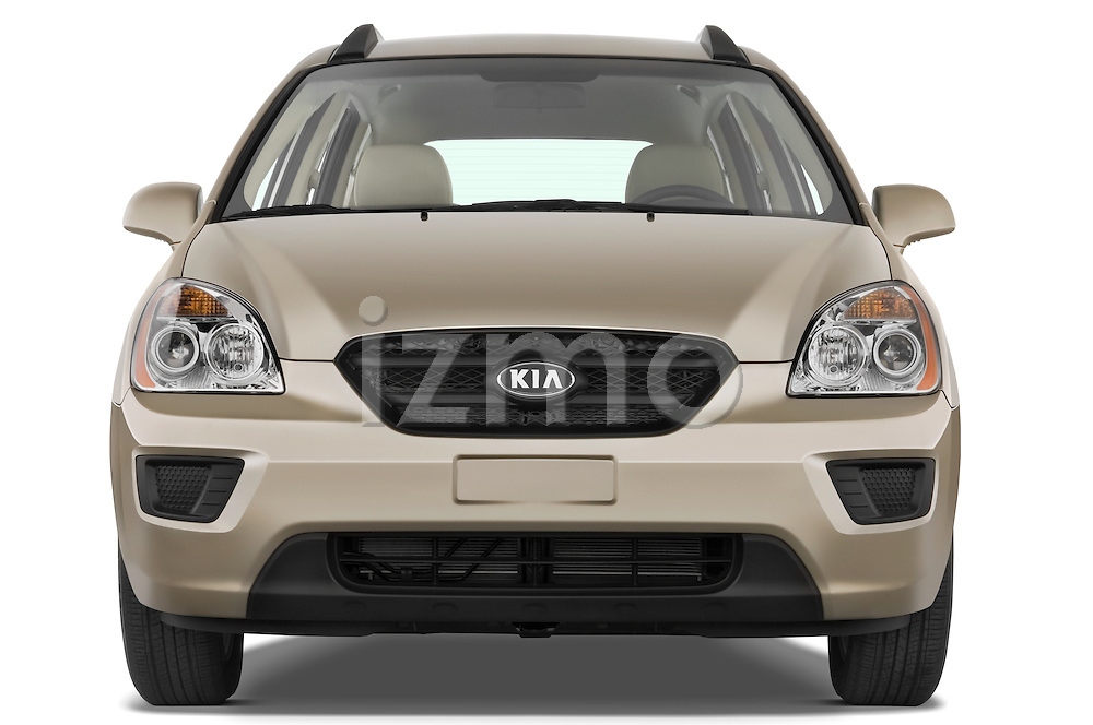 Straight front view of a 2008 Kia Rondo EX V6