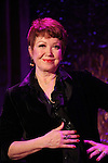 Donna McKechnie attending the Press Preview for their shows at 54 Below in New York City on December 17, 2012