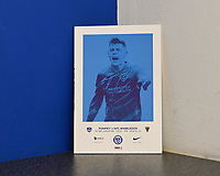 Sean Raggett of Portsmouth on the front of the the match day programme during Portsmouth vs AFC Wimbledon, Sky Bet EFL League 1 Football at Fratton Park on 11th January 2020