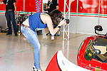 Fans take photographs of the race cars before the WEC Race at the Circuit of the Americas race track in Austin,Texas.