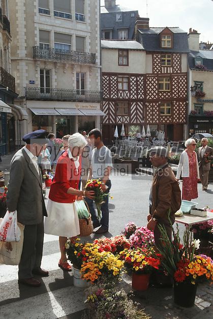 Europe/France/Bretagne/35/Ille-et-Vilaine/Rennes: Rue pont aux Foulons