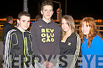 GREYHOUND FUN: Enjoying a great time at the Kingdom Greyhound Stadium on Friday l-r: Jack O'Connor, David O'Neill, Yvonne Murphy and Caitriona O'Halloran..
