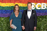 NEW YORK, NEW YORK - JUNE 09: Kathleen Rosemary Treado, Jeff Daniels attend the 73rd Annual Tony Awards at Radio City Music Hall on June 09, 2019 in New York City. <br /> CAP/MPI/IS/JS<br /> ©JSIS/MPI/Capital Pictures
