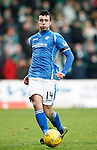 St Johnstone v Celtic...13.12.15  SPFL  McDiarmid Park, Perth<br /> Joe Shaughnessy<br /> Picture by Graeme Hart.<br /> Copyright Perthshire Picture Agency<br /> Tel: 01738 623350  Mobile: 07990 594431