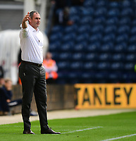 Reading manager Paul Clement shouts instructions to his team from the technical area<br /> <br /> Photographer Chris Vaughan/CameraSport<br /> <br /> The EFL Sky Bet Championship - Preston North End v Reading - Saturday 15th September 2018 - Deepdale - Preston<br /> <br /> World Copyright &copy; 2018 CameraSport. All rights reserved. 43 Linden Ave. Countesthorpe. Leicester. England. LE8 5PG - Tel: +44 (0) 116 277 4147 - admin@camerasport.com - www.camerasport.com