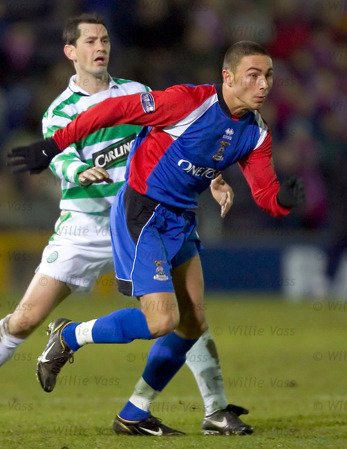 Bajram Fetai, Inverness caledonian Thistle.stock season 2004-2005.pic willie vass