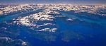 Aerial, Copper River, St. Elias Range, Alaska