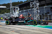 10th July 2020; Styria, Austria; FIA Formula One World Championship 2020, Grand Prix of Styria free practice sessions;  77 Valtteri Bottas FIN, Mercedes-AMG Petronas Formula One Team