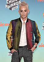 LOS ANGELES, CA - MARCH 23:  Frankie Grande at Nickelodeon's 2019 Kids' Choice Awards at the Galen Center on March 23, 2019 in Los Angeles, California. (Photo by Scott KirklandPictureGroup)