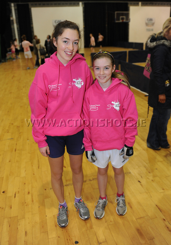 17th November 2013; Michelle and Niamh Heffernan. She's Ace - Women in handball event, Breaffy House Sports Arena, Castlebar, Co Mayo. Picture credit: Tommy Grealy/actionshots.ie.