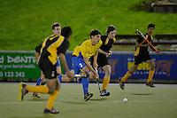 Action from the Wellington Hockey Premier 1 boys final - Wellington College v Wairarapa College at National Hockey Stadium, Wellington, New Zealand on Saturday 19 September 2014.<br /> Photo by Masanori Udagawa.<br /> www.photowellington.photoshelter.com