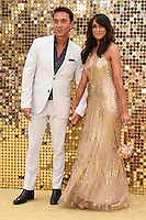 Bruno Tonioli and Jackie St.Claire<br /> arrives for the World Premiere of &quot;Absolutely Fabulous: The Movie&quot; at the Odeon Leicester Square, London.<br /> <br /> <br /> &copy;Ash Knotek  D3137  29/06/2016