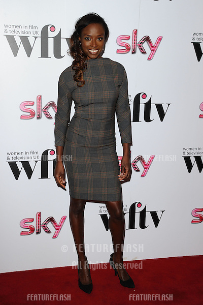 Lorraine Pascale arriving for the Women in Film and Tv Awards 2012 at the Park Lane Hilton, London. 07/12/2012 Picture by: Steve Vas / Featureflash