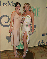 """©2004 KATHY HUTCHINS /HUTCHINS PHOTO.""""A FAMILY AFFAIR: WOMEN IN FILM CELEBRATES THE PALTROW FAMILY""""  .2004 CRYSTAL & LUCY AWARDS.CENTURY CITY, CA.JUNE 18, 2004..SASHA ALEXANDER.JESSICA CAPSHAW"""