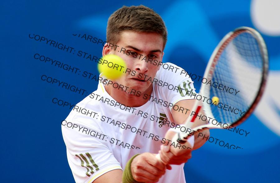 Tenis.Serbia Open 2009.Marko Djokovic Vs. Dominik Hrbaty, kvalifikacije.Marko Djokovic.Beograd, 02.05.2009..foto: Srdjan Stevanovic/Starsportphoto.com ©