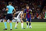UEFA Champions League 2017/2018 - Matchday 1.<br /> FC Barcelona vs Juventus Football Club: 3-0.<br /> Rodrigo Bentancour vs Lionel Messi.