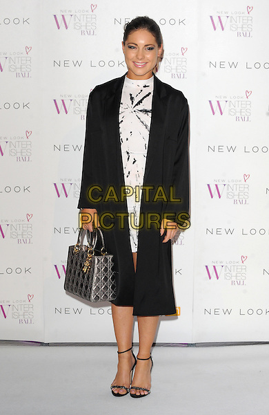 LONDON, ENGLAND - NOVEMBER 06: Louise Thompson at the New Look Winter Wishes Ball, Battersea Evolution, Battersea Park on November 6th, 2013 in London, England, UK.<br /> CAP/BEL<br /> &copy;Tom Belcher/Capital Pictures