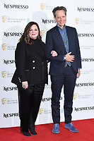 LONDON, UK. February 09, 2019: Melissa McCarthy and Richard E Grant arriving for the 2019 BAFTA Film Awards Nominees Party at Kensington Palace, London.<br /> Picture: Steve Vas/Featureflash