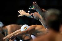 Marco Orsi Italia Men's 4x100 Medley Relay <br /> Swimming - Nuoto <br /> Barcellona 4/8/2013 Palau St Jordi <br /> Barcelona 2013 15 Fina World Championships Aquatics <br /> Foto Andrea Staccioli Insidefoto