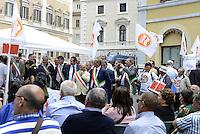 Roma, 21 Maggio 2015<br /> Piazza Montecitorio<br /> Consigli comunali in piazza<br /> Protesta degli agricoltori contro l'imu sui terreni agricoli
